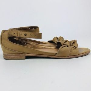 Lucky Penny leather sandals sz 7.5B